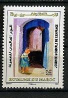 Maroc ** N°1468 - Journée Mondiale De L'Enfance - Maroc (1956-...)