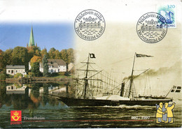 NORVEGE. Superbe Enveloppe Commémorative De 1997. Nidelven. - Ships