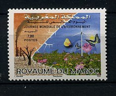 Maroc ** N° 1496 -  Journée Mondiale De L'environnement - Maroc (1956-...)
