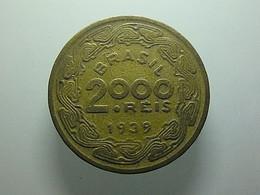 Brazil 2000 Reis 1939 - Brésil