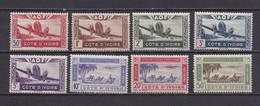 COTE D'IVOIRE 1942  PA N°10/17 NEUFS** - Neufs