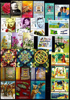 ISRAEL 2020 YEAR SET - THE COMPLETE ANNUAL STAMPS & SOUVENIR SHEETS ISSUE - MNH - Collections, Lots & Series