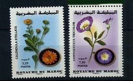 Maroc ** N° 1487/1488  - Fleurs - Maroc (1956-...)