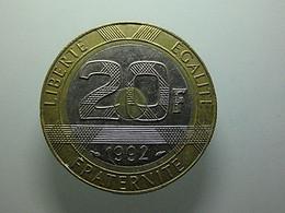 France 20 Francs 1992 - L. 20 Francs