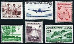 Islas Cocos (Keeling) Nº 1/6 Nuevo Cat.70€ - Islas Cocos (Keeling)