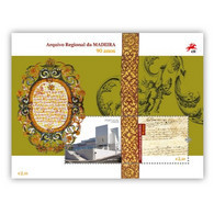 Portugal ** & 90 Years Of The Madeira Regional Archive 2021 (77686) - Madeira