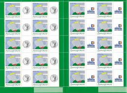 France 2006 - F3927A Deux Bloc Feuillet Anniversaire Babar Personnalisé Avec Logo Cérès Et Timbres Personnalisés - Neuf - Personnalisés