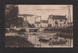 CPA . 76 . HARFLEUR . Le Pont De La Lezarde . - Harfleur