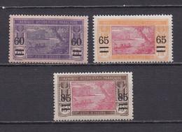 COTE D'IVOIRE 1922  TIMBRES N°59/61 NEUFS** SURCHARGES - Neufs