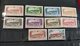 Colonies Françaises-Guyane PA 11/18 * Et PA 20/21 * - Neufs