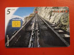 PHONECARD - SWISSCOM TAXCARD 5 CHF 2001   D-0086 - Switzerland