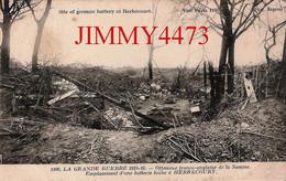 CPA - HERBECOURT - Emplacement D'une Batterie Boche ( Canton De Péronne 80 Somme ) GUERRE 1914 - N°1106 - Phot Express - War 1914-18