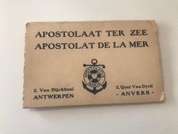 Pochettes De 10 Cartes Postales Anciennes ANTWERPEN - ANVERS APOSTOLAAT TER ZEE - APOSTOLAT DE LA MER - Antwerpen