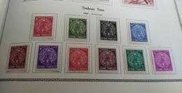 Colonies Françaises-Guyane (1947) Taxe N 22 à 31 * (charniere) - Neufs