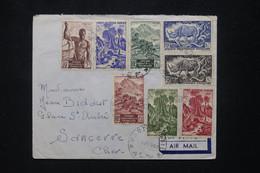 A.E.F.- Enveloppe De Port Gentil Pour La France Par Avion  En 1950 - L 103153 - Lettres & Documents
