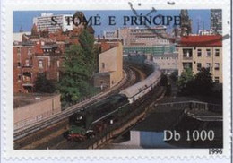 SAINT THOMAS ET PRINCE - Train En Ville - Sao Tome En Principe