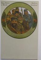 Deutsche Kriegsscheibenkarten, August Ritter Von Meißl, Russen Invasion (49068) - Weltkrieg 1914-18