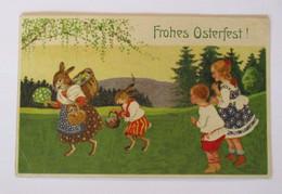 Ostern, Personifiziert, Osterhase, Kinder, 1926 ♥ (50593) - Ostern