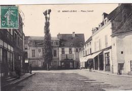 Côte-d'Or - Arnay-le-Duc - Place Carnot - Arnay Le Duc