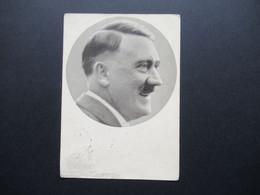 3.Reich Ostmark 1938 Propaganda AK Adolf Hitler Männer Der Zeit SST Tag Des Großdeutschenreichs Wien Und Hindenburg EF - Briefe U. Dokumente