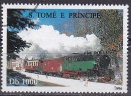 SAINT THOMAS ET PRINCE - Locomotive Verte - Sao Tome En Principe