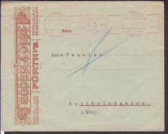 Brief  Deutsches Reich Freistempel  Fürth 1927 , - Briefe U. Dokumente
