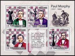 Sao Tomé-et-Principe** - Échecs / Schaakspel / Schachspiele / Chess Games - Sao Tome En Principe