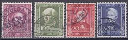 Bund 1949 - Mi.Nr. 117 - 120 - Gestempelt Used - Gebraucht