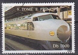 SAINT THOMAS ET PRINCE - Shinkansen Du Japon - Sao Tome En Principe