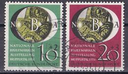 Bund 1951 - Mi.Nr. 141 - 142 - Gestempelt Used - Gebraucht