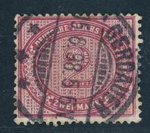 Deutsches Reich Michel Nummer 37e Gestempelt 15.06.1998 Gerdauen Ostpreußen - Gebraucht