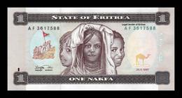 Eritrea 1 Nakfa 1997 Pick 1 SC UNC - Eritrea