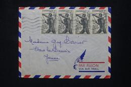 CAMEROUN.- Enveloppe De Douala Pour La France Par Avion En 1953 - L 103155 - Lettres & Documents