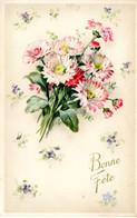 CP Fete Voeux Bonne Bouquet Fleur - Otros