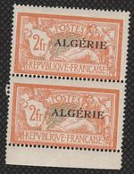 Année 1926-N°31 Neuf**MNH : Timbres De France 1900-24 Surchargés  : Paire (mb2) - Neufs