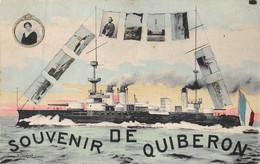 ¤¤   -  Souvenir De QUIBERON   -   Multivues  -  Bateau      -   ¤¤ - Quiberon