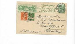 Karte Aus Bern Nach Hamburg 1923 - Cartas