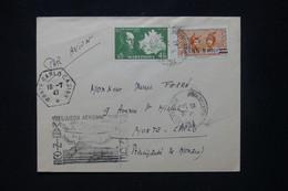 MARTINIQUE - Enveloppe De Fort De France Pour Monaco En 1947 Par 1er Vol Direct Martinique / France - L 103163 - Lettres & Documents
