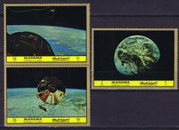 Manama Space : 1972 Great History Of Astronautics. - Manama