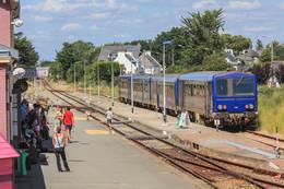 56  QUIBERON  ... La  Gare - Quiberon