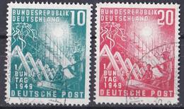 Bund 1949 - Mi.Nr. 111 - 112 - Gestempelt Used - Used Stamps