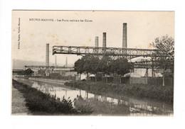 NEUVES MAISONS (54) - Les Ponts Roulants Des Usines (Canal De L'Est) - Neuves Maisons