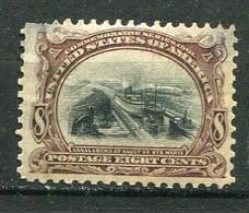 E-U 1901Yv. N° 142   SCOTT N° 298 .Wmk USPS  *   8c Exposition  De Buffalo  Cote 150 Euro  D  2 Scans - Ungebraucht