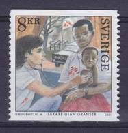 Sweden 2001 Mi. 2244      8 Kr Friedensnobelpreis Peace Nobel Price Red Cross Rotes Kreuz Croix Rouge MNG(*) - Neufs