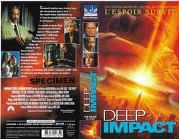 """DEEP IMPACT"" -jaquette SPECIMEN Originale CIC VIDEO -de Mimi LEDER - Fantascienza E Fanstasy"