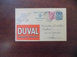 """EP Belgique Publibel 600 """" Liqueurs Duval """" - Tubize 1946 - Publibels"""