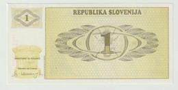 Banknote Slovenije 1 Tolar 1990 UNC - Slovenia