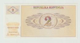 Banknote Slovenije 2 Tolar 1990 UNC - Slovenia