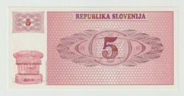 Banknote Slovenije 5 Tolar 1990 UNC - Slovenia