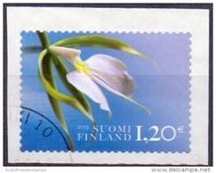 Finland 2013 1.20 Orchidee GB-USED - Gebruikt